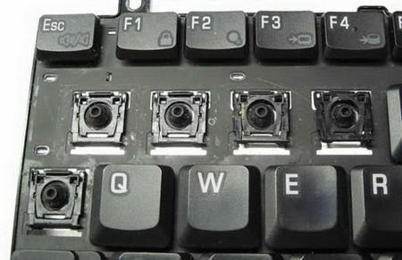 Как разобрать клавиатуру ноутбука - Все о ремонте ноутбуков